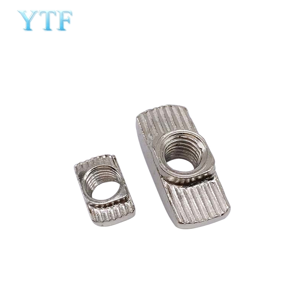 50Pcs/lot 3D Printer M3 M4 M5 T Type Nut Fastener Connector For 2020 3030 Aluminium Profile Parts T Nut