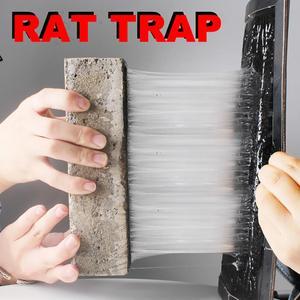 Image 3 - Nouveau Invisible collant souris colle conseil tueur Rat piège arachide odeur noir piège à souris