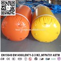Inflatable Air Marker Yellow Color Inflatable Tube / PVC Inflatable Floating Water Buoys For Games