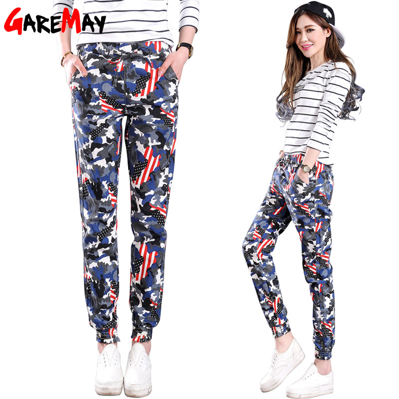 garemay womens camouflage pants fashion pantalon femme. Black Bedroom Furniture Sets. Home Design Ideas