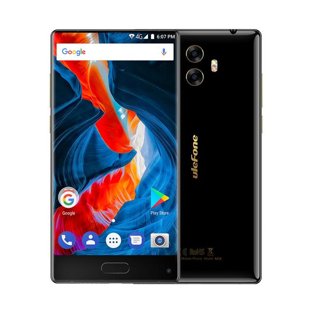 Original ULEFONE MIX Android 7.0 5.5 Inch 4GB RAM 64GB ROM MTK6750T 1.5GHz Octa Core HD Screen Dual Camera 4G LTE Smartphone
