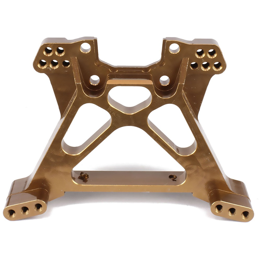 Aluminum Rear Shock tower absorber plate 8544 for rc 1/10 traxxas slash 1pc upgraded Hop-up parts stylish machine alloy 5807 fid closed damping ball group rod shock absorber cap for lt 5t 1 set