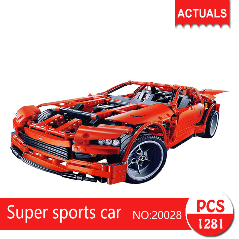 Lepin 20028 1281Pcs Technic Series  Super sports car  Building Blocks   Bricks Toys For Children Gift цена и фото