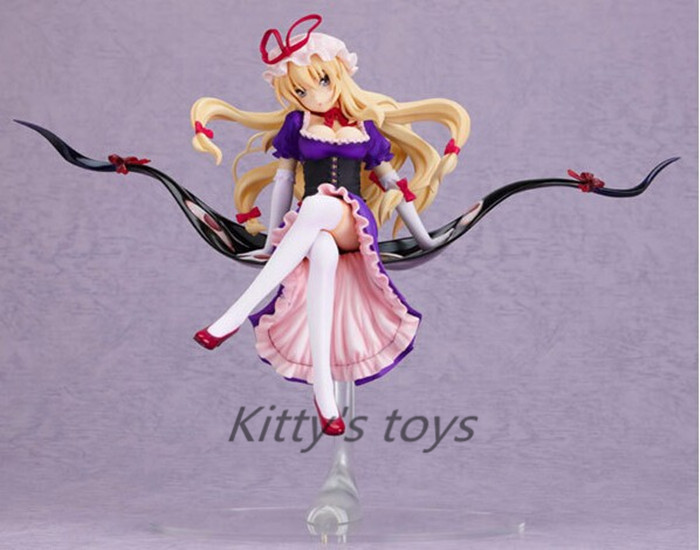 Free Shipping Game Touhou Project Yakumo Yukari 22CM PVC Action Sexy Figures Models Collectible Toys KA0461Free Shipping Game Touhou Project Yakumo Yukari 22CM PVC Action Sexy Figures Models Collectible Toys KA0461