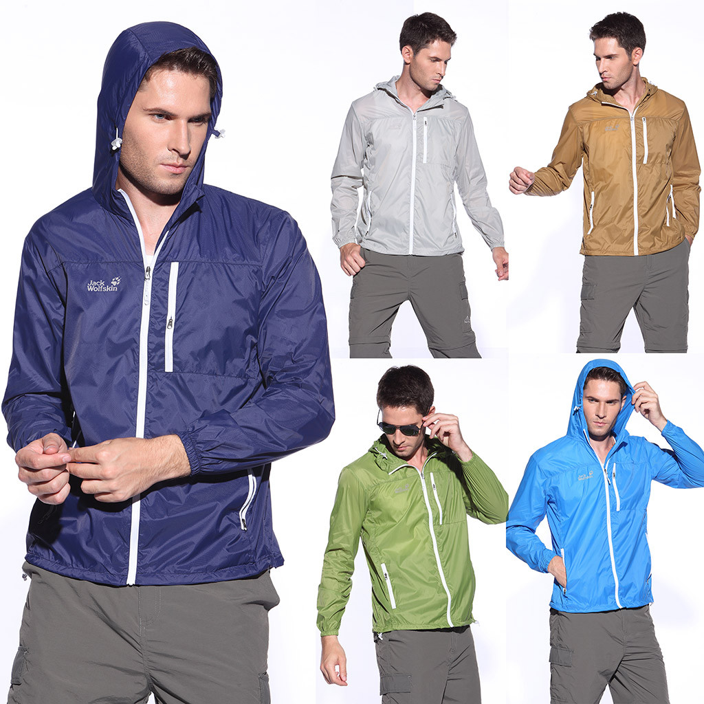 Jacket Sun-Protection Coat Windbreaker Bicycle-Trench Hooded-Thin Top Outdoor Unisex