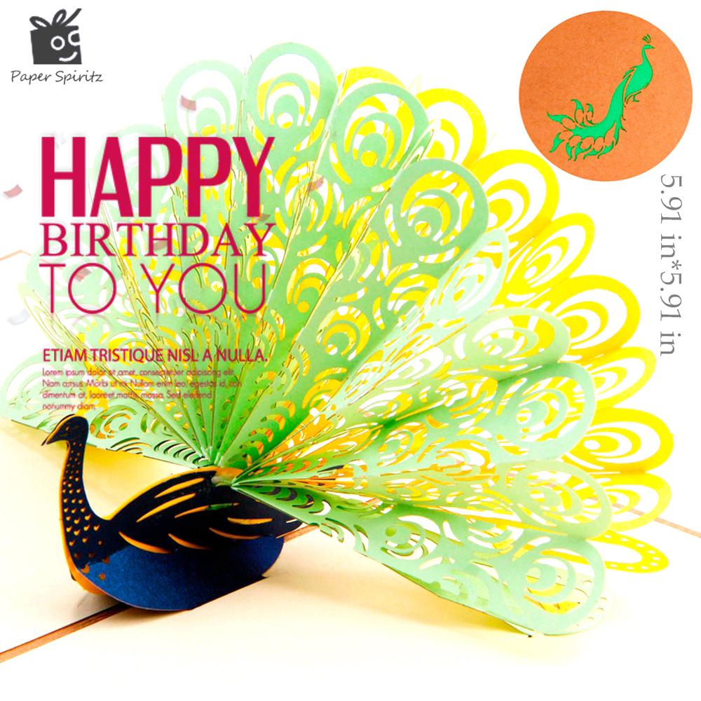 d tarjetas de de tarjetas de cumpleaos tarjetas postales regalo papel kirigami popup