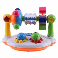 Multifunctional Musical Toys Plastic Color Music Cognition Electronic Baby Musical Development Educational Early Learning Toys