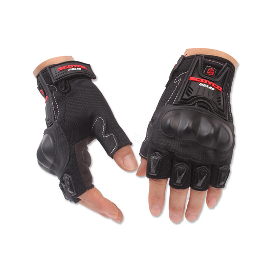 Motorcycle gloves in nepal - Half Finger Motorcycle Gloves For Scoyco Mc29 Cycling Racing Riding Protective Gloves Motorbike Motorcross Guantes Glove