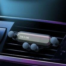 Гравитационный Автомобильный держатель для телефона iphone X Xs Max samsung S10 В Автомобиле вентиляционное крепление автомобильные держатели для Xiaomi huawei подставка для мобильного телефона