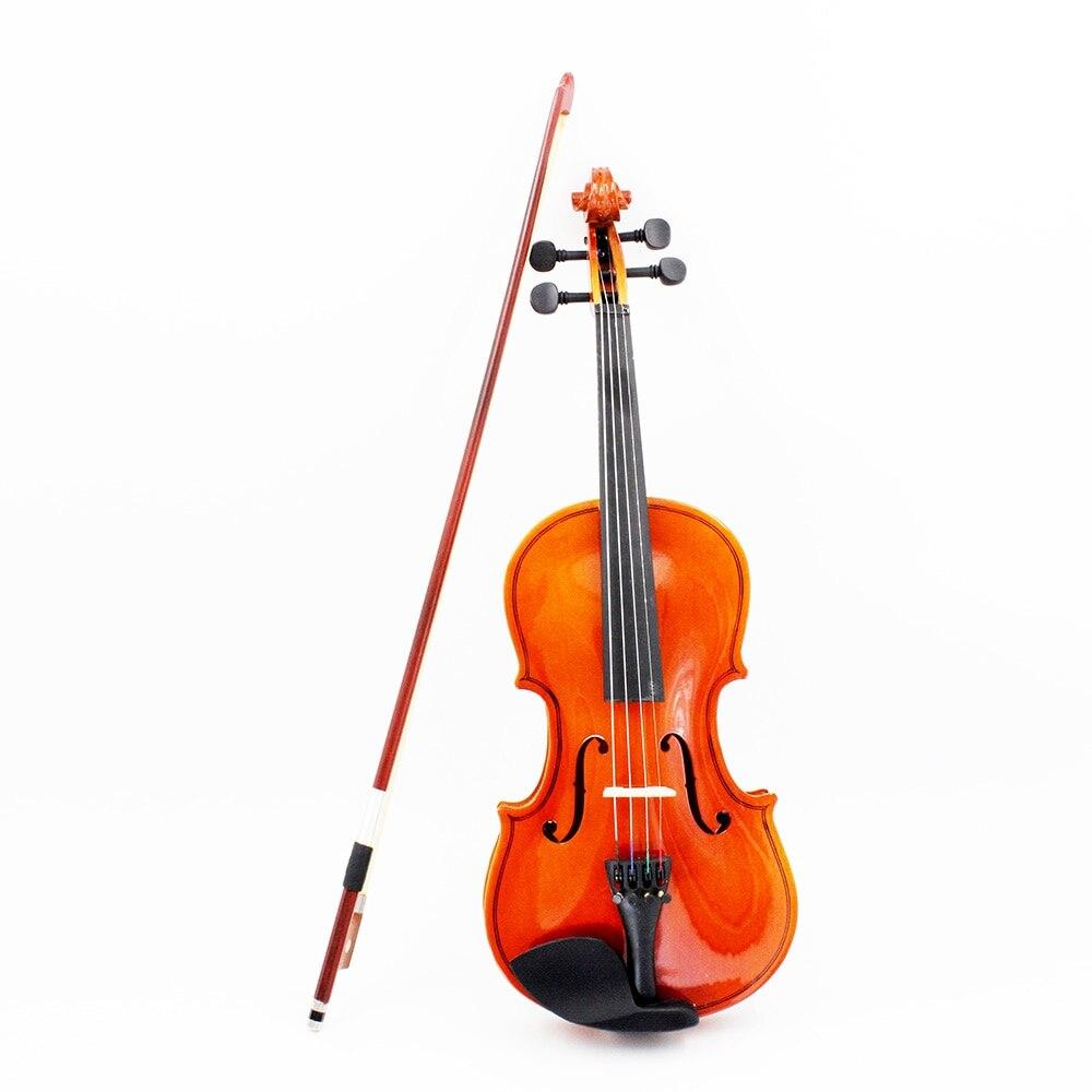Violon violon tilleul acier chaîne tonnelle arc à cordes Instrument de musique jouet pour enfants débutants