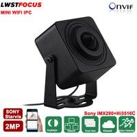 Sony Starvis IMX290 2MP Mini WIFI IP Camera 1080P Pinhole 3 7mm Lens 2 Way Audio