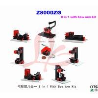 Многофункциональный сверлильный шлифовальный станок 8 в 1 с бантиком Arm Kit Мини фрезерный токарный станок Z8000ZG используется для семьи или шко