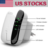 Hot Sale Wireless N AP Wifi Repeater 802 11b G N Network Wifi Router Expander Antenna