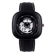 Fashion Watches Women Men Rubber Band Square Quartz Casual Sports Wrist Watch Watches Clock Hours Waterproof Relogio Masculino