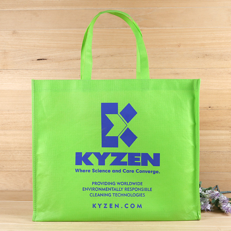 500pcs lot W40xH30xD10cm PP Polypropylene non woven bags for shopping customized logo printed promotional bag with