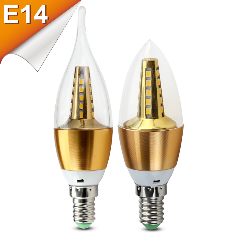 Buy lampada candle lamp led light e14 for Lampada led e14