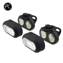 Backpack-Light Magnetic-Lamp Multi-Function Outdoor Waterproof Pcycling 2pcs MTB