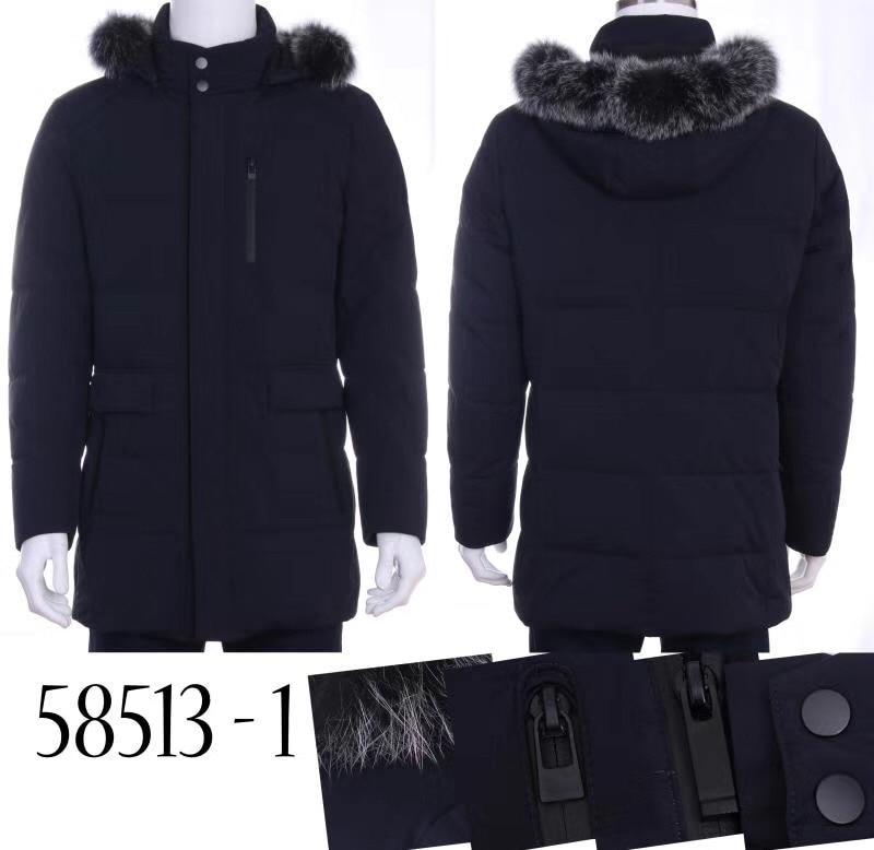 TACE & SHARK Billionaire пуховая куртка Мужская 2017 новая зимняя шапка с лисьим мехом Удобная предупреждающая Высокая Толстая Мода материал бесплатная