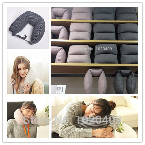 High quality Muji Particulate neck pillow / travel pillow