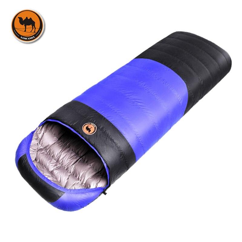 1.5 кг/1.7 кг Ультралегкий спальный мешок конверт сделан из белого утиного пуха,  удобный спальный мешок в размере 210*80 см