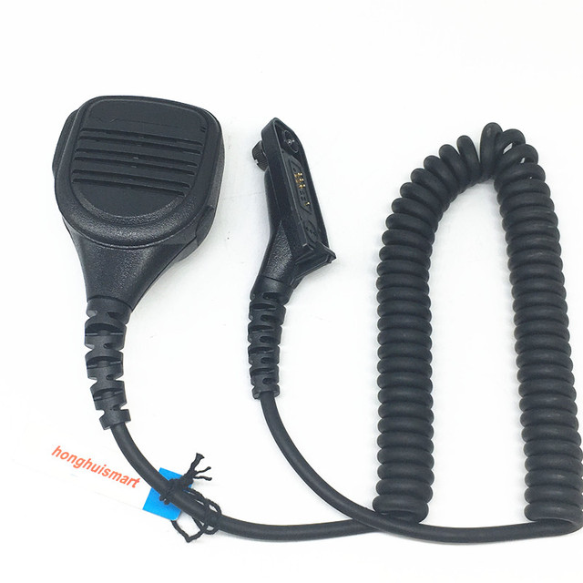 Handenvrij microfoon speaker voor Motorola Xir P8268 P8260 P8200 P8660 GP328D DP4400 DP4401 DP4800 DP4801 etc walkie talkie
