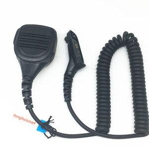 Image 1 - Микрофон громкой связи для Motorola Xir P8268 P8260 P8200 P8660 GP328D DP4400 DP4401 DP4800 DP4801 и т. Д., рация