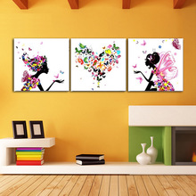 P065 Max Size 60x60cmx3 Frameless Pictures Painting By Numbers DIY Digital Oil Painting On Canvas Home Decoration DIY