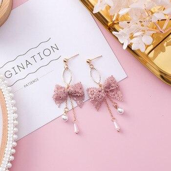 Серьги супер-бабочки, милые геометрические длинные сережки, модные украшения для женщин