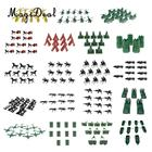 5/10pcs Plastic Military Base Model Set Toy Soldiers Blockhouse Helicopter Tent Army Men Accessories