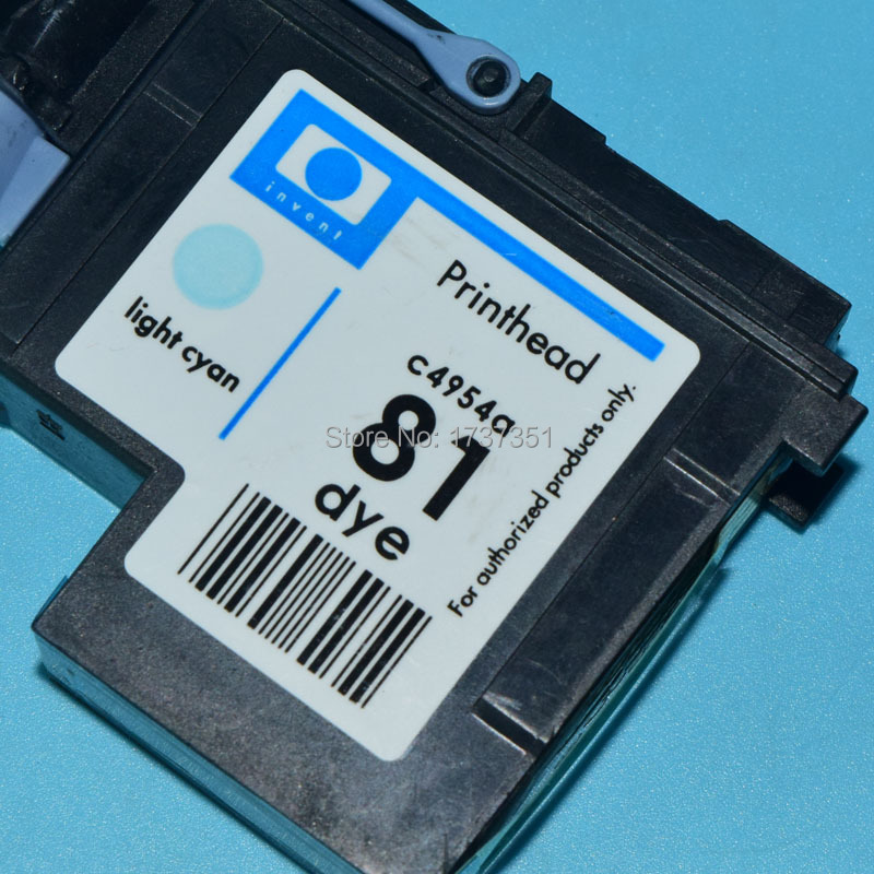 все цены на 1 piece C4954A HP81 Remanufactured Printhead for hp 81 Designjet 5000 5500 print head Light Cyan color