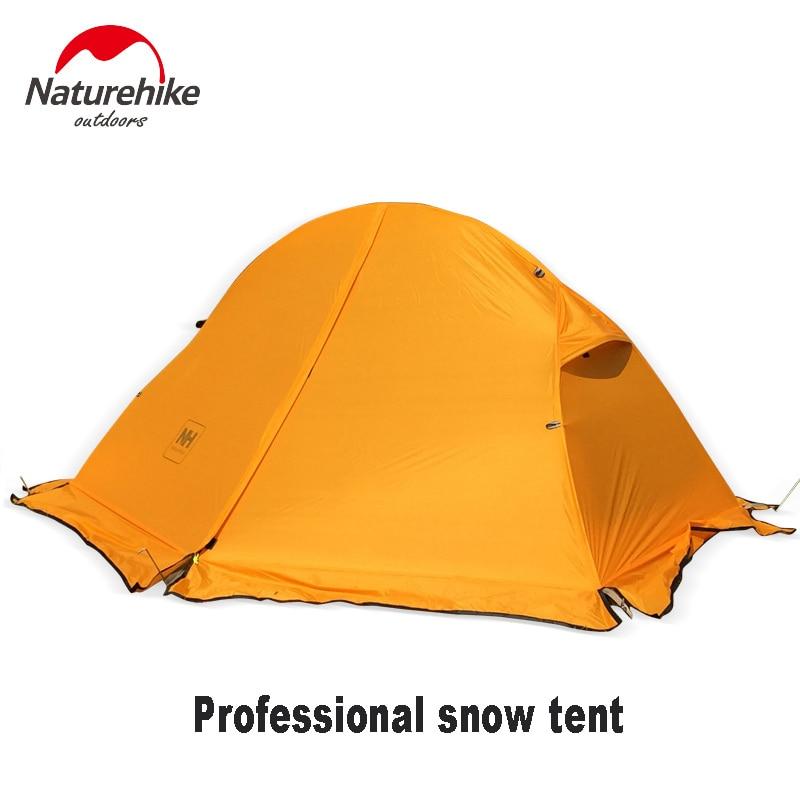 20D 210T 옥스포드 텐트 내부 텐트와 함께 비행 초경량 단일 사람 더블 레이어 알루미늄 막대 캠핑 장비 1.3KG 순 중량