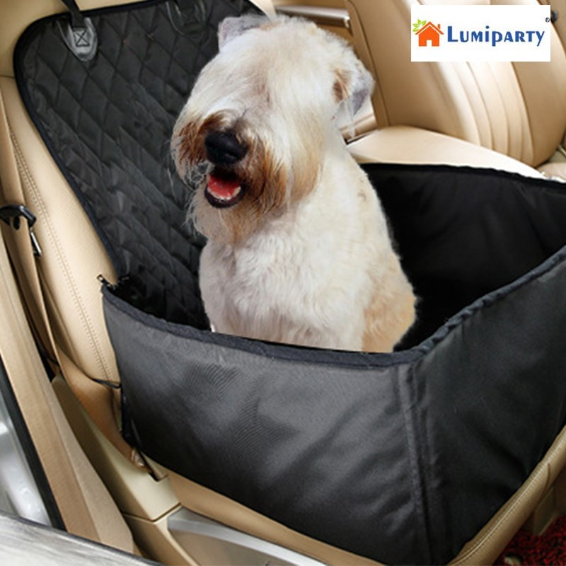 LumiParty Car Rear Back Seat Cover Blanket for Pet, Dogs Waterproof Cushion Bench Seat P ...