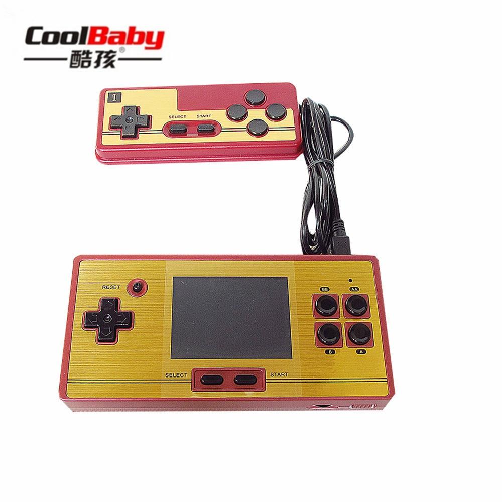 Portable Spielkonsolen Aktiv Coolbaby Rs-20 600 Verschiedene Spiele Gebaut 2,6 Zoll Bildschirm Kinder Spiel 8bit Handheld Tetris Fortgeschrittene Technologie üBernehmen