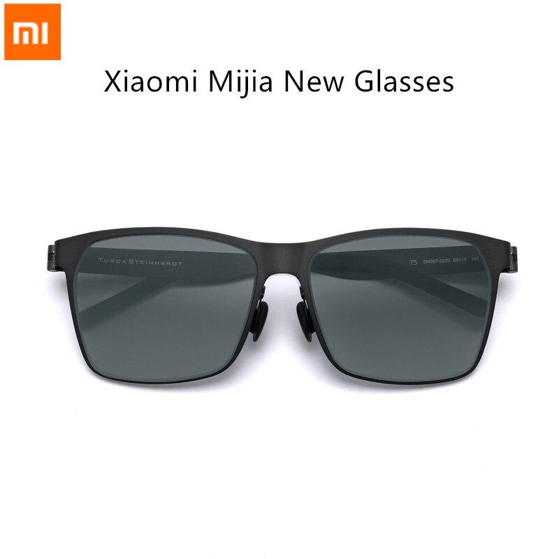 2018 Аутентичные youpin Mijia настройки TS нейлоновые поляризованные солнцезащитные очки ультратонкие легкие предназначены для путешествий на отк...