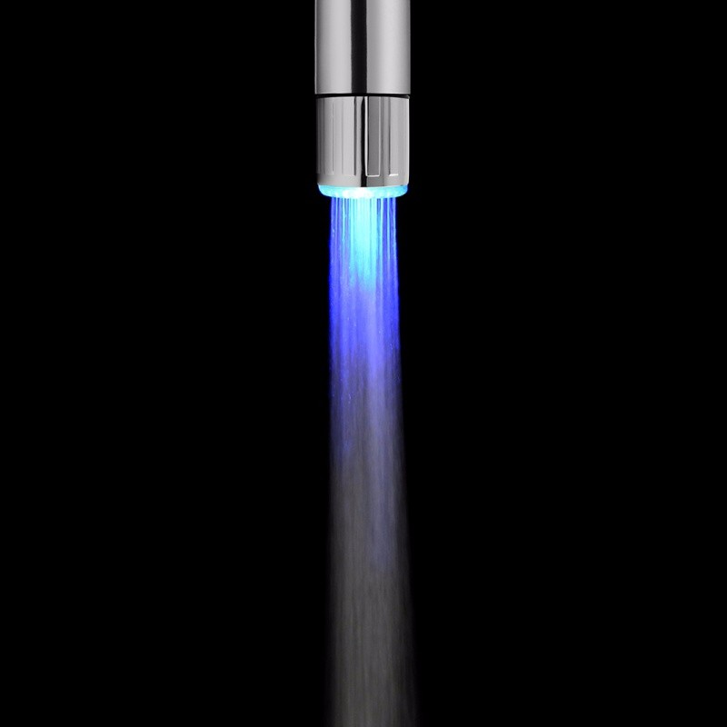 New LED Water Faucet Light Colorful Changing Glow Kitchen Tap 10