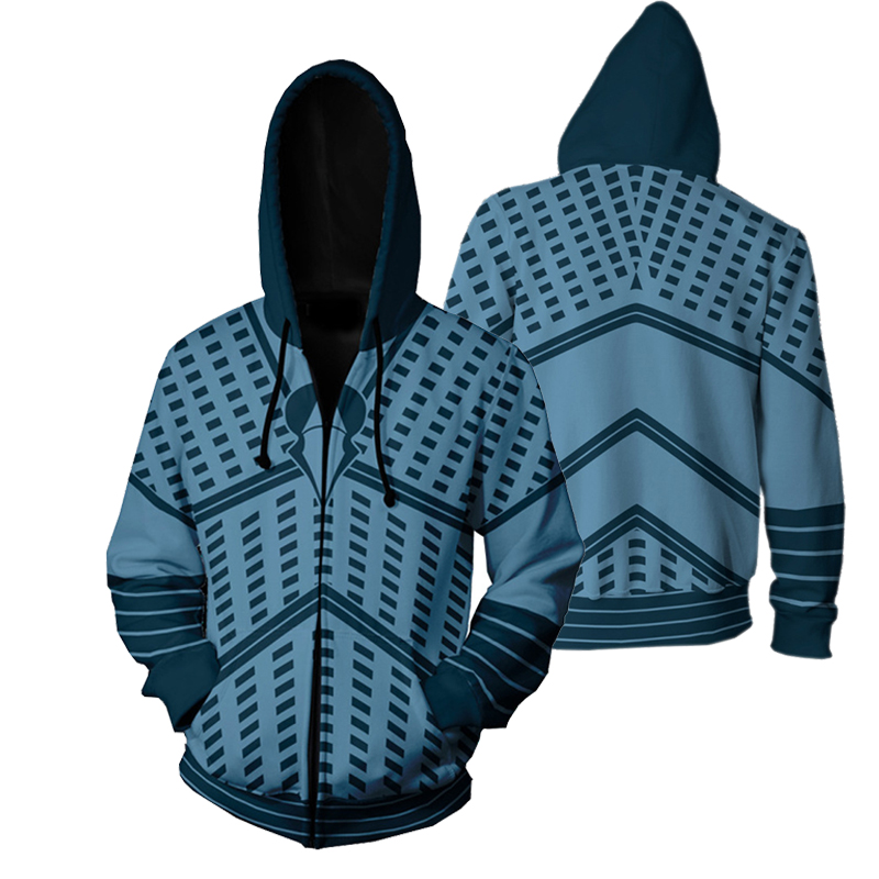 2019 new Game of Thrones hoodies Cosplay hoodies night king Hoodies 3D print Zip Up Hoodie Men women sports Jackets streetwear