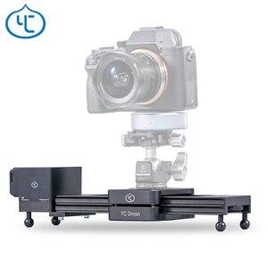 Image 1 - YC Onion Chocolate Motorized Camera Slider Aluminum Alloy Lightweight Portable for DSLR Mirrorless Camera Bluetooth APP Control