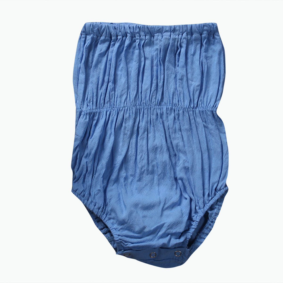 Summer 2017 Newborn Baby Girls Tube Top Denim Romper Kids Jumpsuit Outfits Sunsuit Clothes