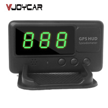 Overspeed hud speedometer windshield vehicle alarm gps speed all projector display