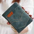 Fashion Jeans Pocket Women Wallets Luxury Brand Womens Small Wallet Ladies Short Coin Purse Gift