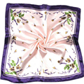 Good Deal New Hot Satin Silk Square Scarf Women Fashion Four Seasons Shawl Changeable Silk Satin Scarves Gift 1PC