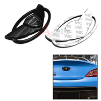 1pc 3D Badge Emblems With Car Sticker Double Side Tape For 2010 2015 Hyundai GENESIS COUPE