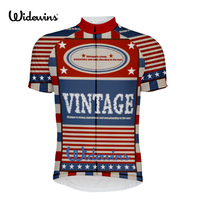 2017 Vintage Brand Men Cycling Jersey Only Short Sleeves Pro Team Bike Wear Ropa Ciclismo MTB