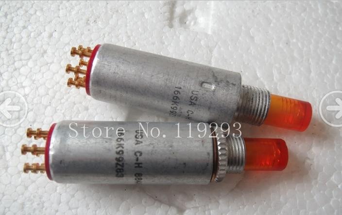[BELLA]USA USA CH 166K99Z83 small reset switch illuminated pushbutton switch openings 9MM--1pcs/lot нож кастет usa 1918