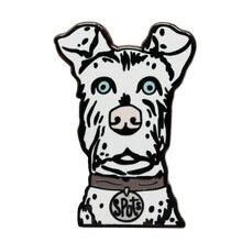 Ile des taches en émail dur pour chiens, Wes Anderson