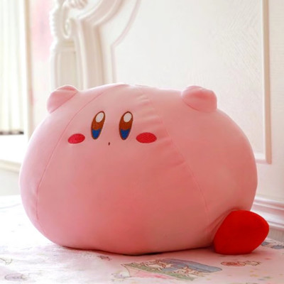 Popular game large size 43CM Kirby Kirby cute plush toy doll cartoon plush soft cushion and pillow Girl's favorite gift image