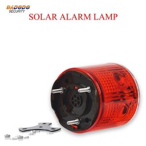 Lámpara de alarma de advertencia Solar, sin interruptor, controlada ópticamente, luz de seguridad, señal, baliza, alarma, lámpara de emergencia, lámpara de barco de tráfico