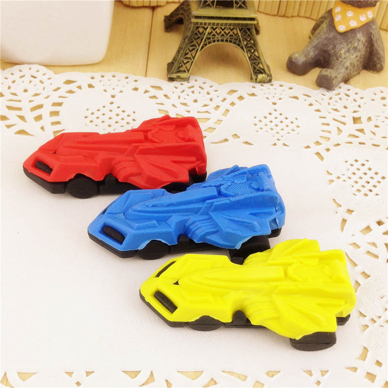 Free Ship!1lot=36pc!Creative Cartoon Racing Car Eraser / Rubber Students Erasers/stationery/children Gift Erasers