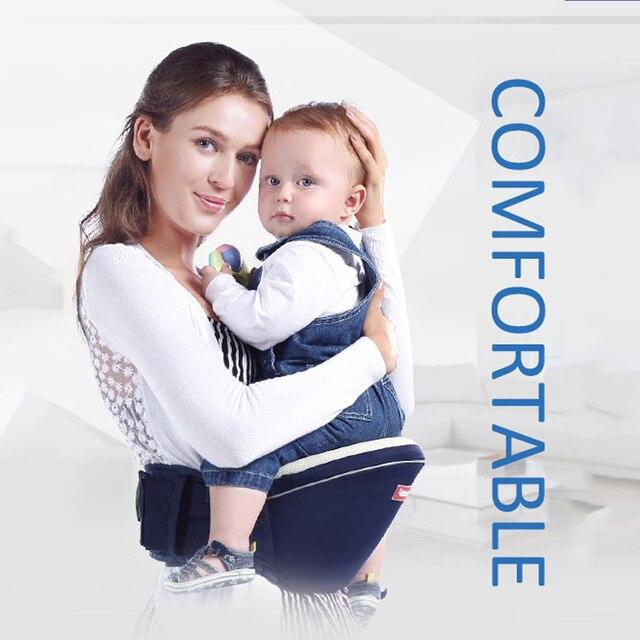 SUNVENO Nouveau Design Kangourou Siège Pour Hanche Hipseat Transporteur  Infantile Porte-Bébé Enfants Infantile Hip e82edee634f
