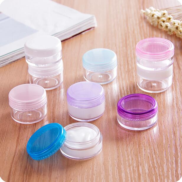 Travel Acrylic Makeup Organizer Portable Lotion Box Eye Cream Storage Box  20 Pieces/Lot Trial